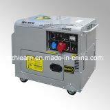 Three-Phase Air-Cooled Silent Single Cylinder Diesel Generator Set (DG4500SE3)