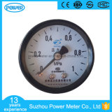 40mm Black Steel Back Type Pressure Gauge with Ce Certificate