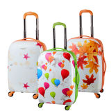 """Front Shell PC with PP Back Shell/ PC Zipper Luggage for Travel (PPL04-PC-C20""""24""""28"""")"""