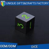 Logo Customize Engraved Dice Casion Dice Metal