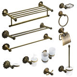 Premium Classic Bathroom Accessories Set in Anitque Brass