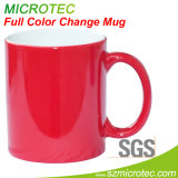 11oz Colour Change Mug -Red
