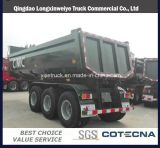 Heavy Duty 3 Axle 25cbm Dump Trailer Tipper Semi Trailer