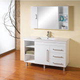 White Glossy Painting MDF Bathroom Cabinets