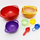 8PCS Household Colorful Kitchenware, Bowl Set