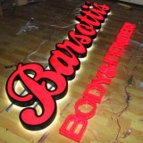 Outdoor LED Lighted Acrylic Channel Letter Sign