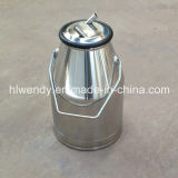 Stainless Steel Milk Bucket with Ss201 Cover