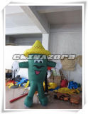 Funny Man in Cap Image Inflatable Moving Cartoon