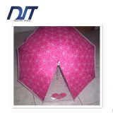 Transparent Faion OEM Custom Printing Lady Three Fold Umbrella