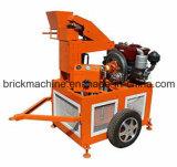 Hr1-20 Clay Brick Machine Movable Brick Making Machine