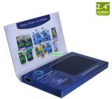 Mini USB Port 2.4'' LCD Screen Video Business Card