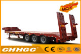 Chhgc New Product 3axle Lowbed Concave Beam Semi Trailer