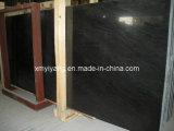 Black Wood Grainy Marble Slab for Countertop, Walling, Flooring