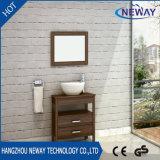 Simple Melamine Ceramic Basin Bathroom Furniture Cabinet