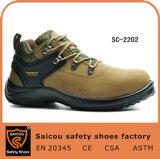 Fashion Climbing Mountain Woodland Composite Toe Safety Shoes Sc-2202