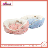 Pet Bed in Blue and Pink