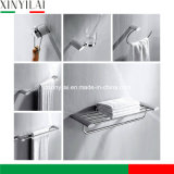 Oval Design Brass Chrome Plated Accessories Bathroom Set
