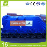 100% Waterproof Polyester Fabric Coated Canvas PVC Tarpaulins Truck Cover Lumber Tarp Steel Tarp