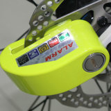 Electric Anti Thief Disc Brake Alarm Bike Wheel Lock