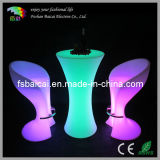 PE Material Waterproof LED Stools Chairs