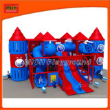 Indoor Plastic Naughty Castle Playground Equipment