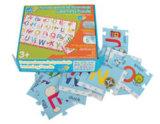 Paper children puzzle