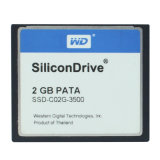 Silicondrive 2GB PATA Compactflash Compact Flash Memory Card Wd CF Card