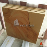 Yellow Sandstone Tile for Exterior Wall Cladding