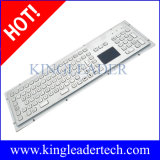 Stainless Steel Keyboad with Touchpad, Function Keys and Numeric Keypad