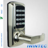Keyless Electronic Password Door Lock, Password + Mechanical Key, Perfect for Office & Home