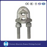 Pole Line Hardware Galvanized Loop Dead End Clamp