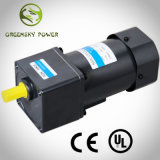 Low Rpm High Torque 220VAC 120W 104mm Induction Gear Motor