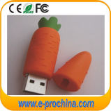 Customized Carrot Shape Soft PVC USB Promotional Items (ET561)