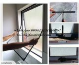 DIY Magnetic Window Insect Screen