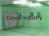 Clear PVC Swing Doors Curtain