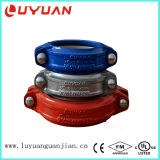 """UL Listed, FM Approved, Grooved Coupling Standard Rigid 1-1/2"""" Galvanized"""