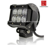 LED Car Light of LED Light Bar Super Quality IP68 18W Water Proof with Ce for SUV Car LED off Road Light and LED Driving Light