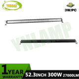 300W 52inch CREE Chip Side Mount LED Work Driving Bar for 4X4
