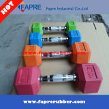 Body Building/Rubber Hex Dumbbell /Dumbbell Set Fitness Gym Equipment