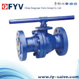 Cast Iron Floating Ball Valve with Handlever