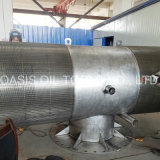 Stainless Steel Wedge Wire Screen for Sea Water Desalination