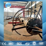 112 Meter Telecom Tower, Fence HD Bolts, Horizontal Cable Bridge, Work Platforms, Safety Cage