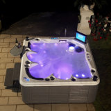 Hot Sale Luxury Outdoor SPA for 5 Person, USA Acrylic, Balboa System with Golden Service (SR862)