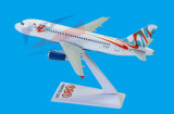 with Logo ABS Material A319 1: 200 Aircraft Model