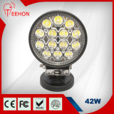 Hot Sale Round 42W LED Car Driving Work Light for Truck and Vehicles