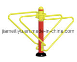 Traditional Red&Yellow Series Outdoor Gym Equipment Exercising Bars