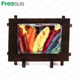 Freesub Directly Factory Wooden Rock Photo Frame 17*12cm (SH-38)