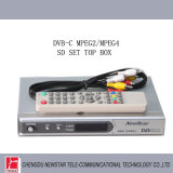 DVB-C SD MPEG2 /MPEG4 Set Top Box