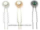 New Design 925 Silver Custom Rhodium Plating Hairpin (H0003)