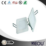 TUV UL Approved 170mm X170mm 12W Square LED Ceiling Light